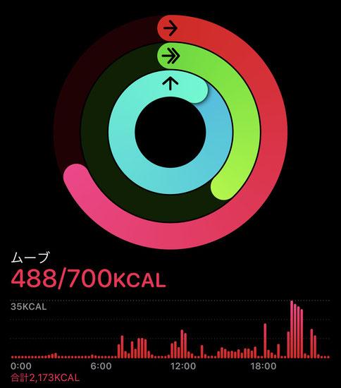 Apple Watch ムーブリング