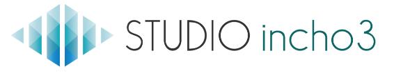 STUDIO-incho3 のロゴ画像