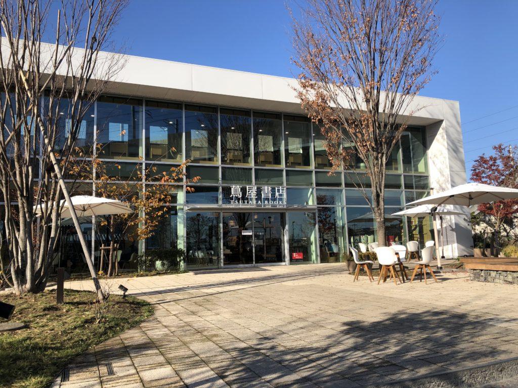 柏の葉T-SITE 蔦屋書店入口