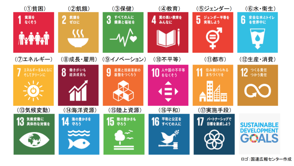 SDGs 目標17項目