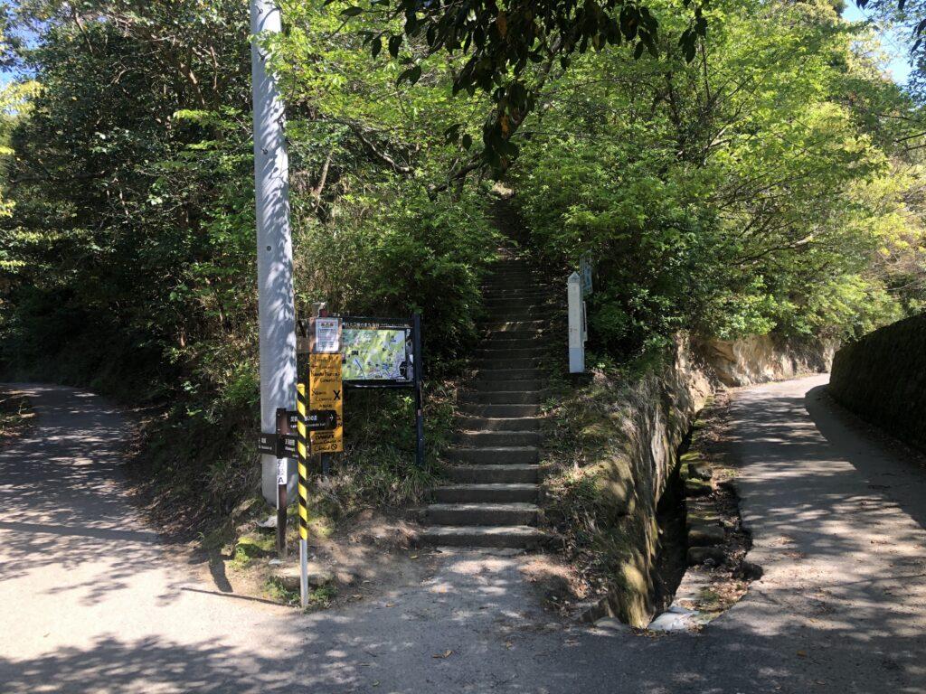 左「車力道」 中央「関東ふれあいの道」